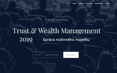 Zveme vás na konferenci Trust & Wealth Management 2019